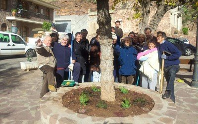 Cleaning and Greening a Village