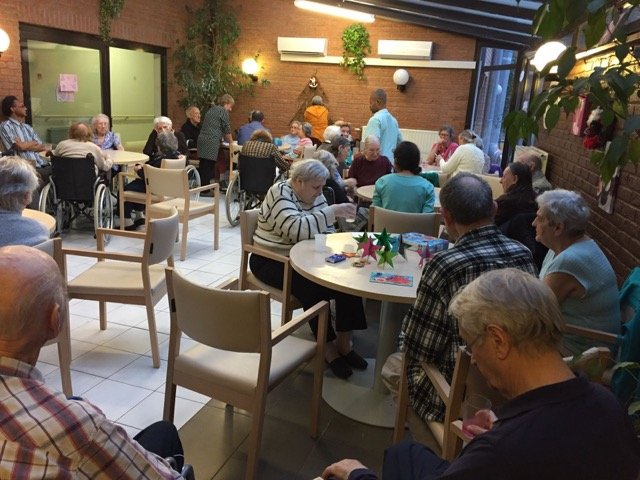 HSB Volunteers Organized an Afternoon with the Elderly in Brussels (Belgium)