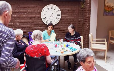 HSB Volunteers Organized another Afternoon in the Nursing Home for Elderly People in Brussels (Belgium)