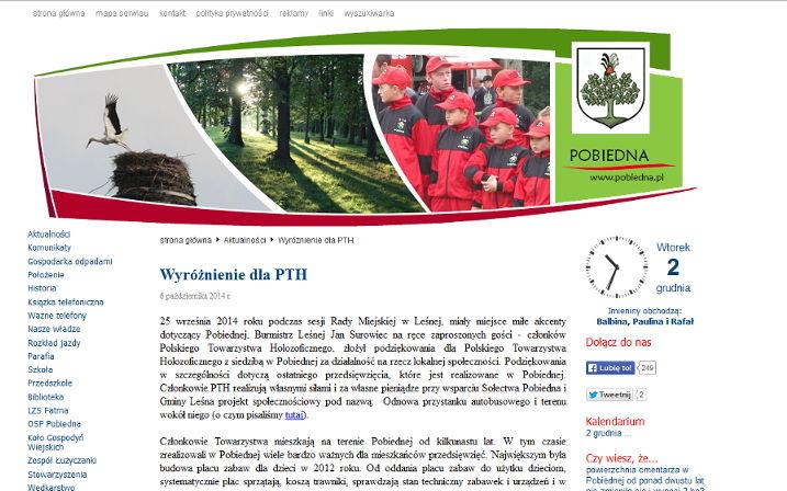 Article Pobiedna Website
