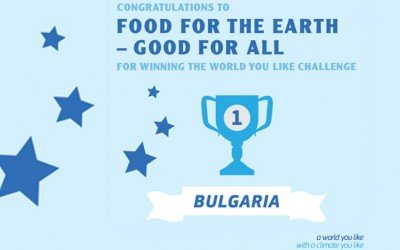 Winner of EUs WORLD YOU LIKE Challenge