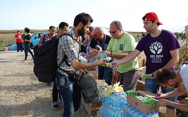 Wsparcie dla uchodźców