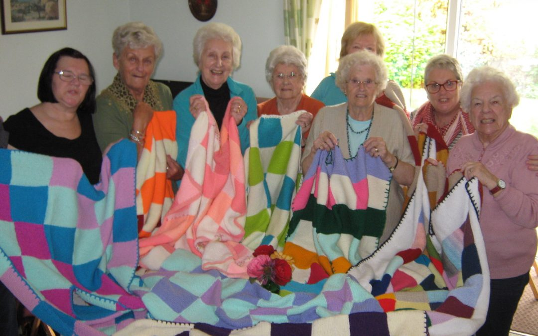Knitting with Care for the Elderly