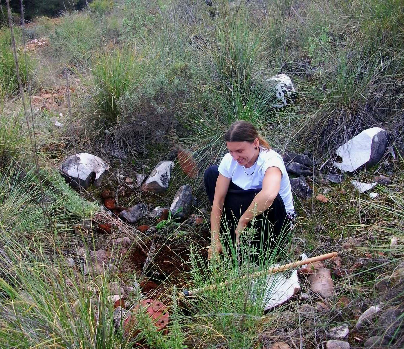 Volunteer Planting Tree