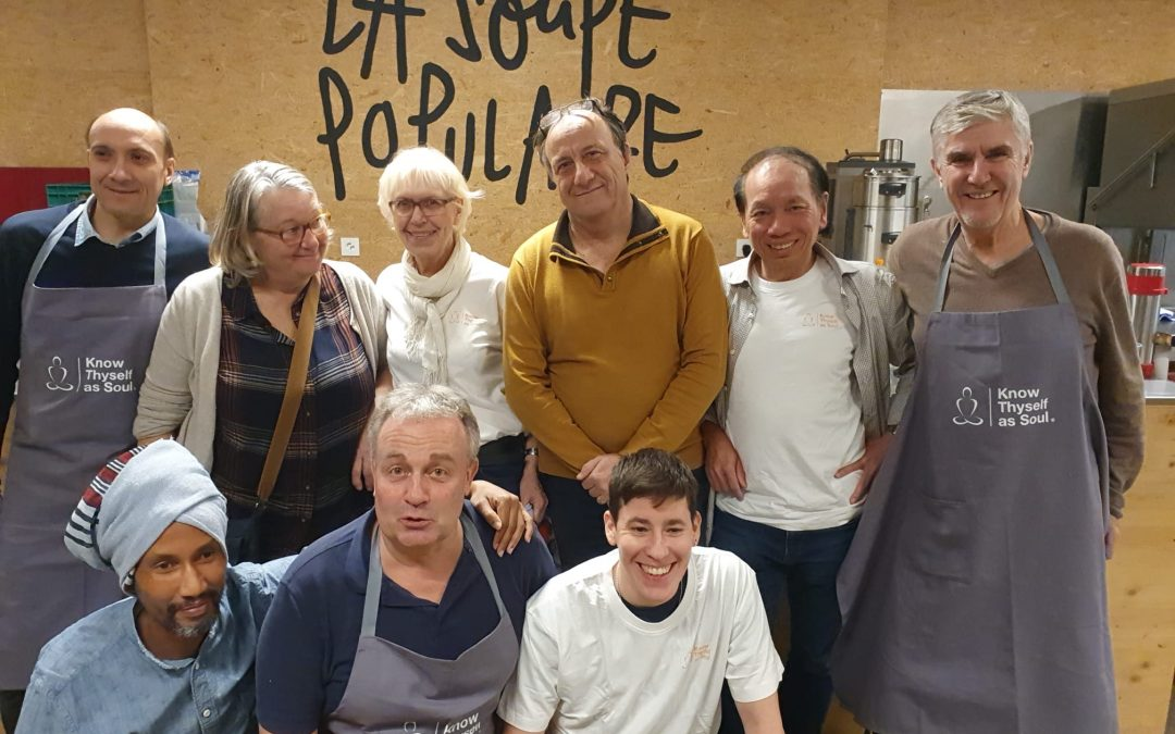 Holosophic Society Switzerland in the Soup Kitchen
