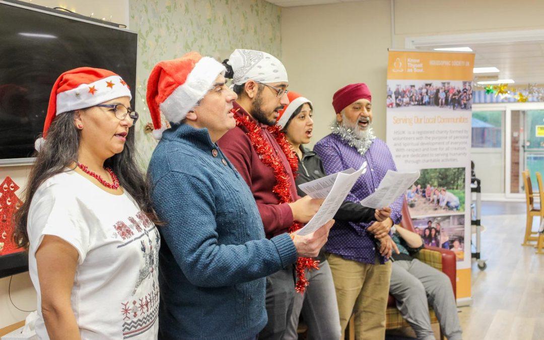 Holosophic Society UK – Celebrating Christmas with the Elderly