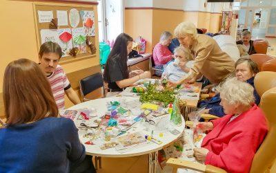 Świąteczne spotkanie w szpitalu w Pradze zorganizowane przez Holosophic Society Republika Czeska