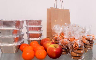 La Asociación Holosófica de Croacia distribuye paquetes de almuerzo navideño en Zagreb
