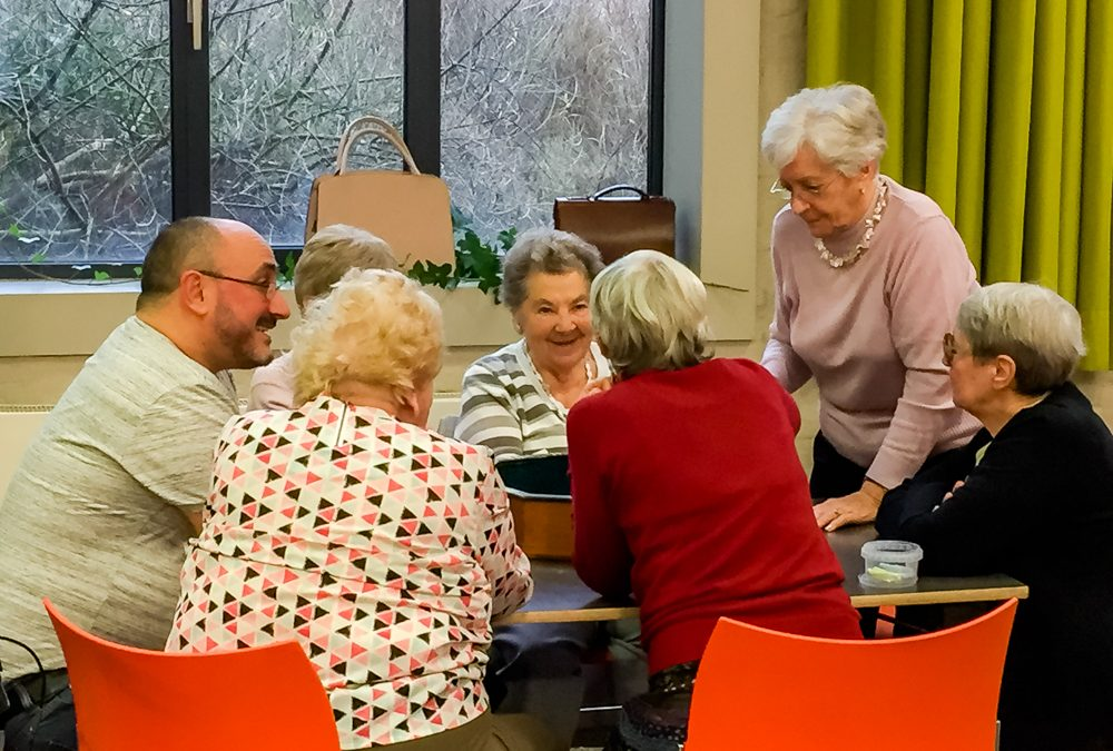 Holosophic Society Benelux (HSB) Organized a Playful Afternoon with Elderly People