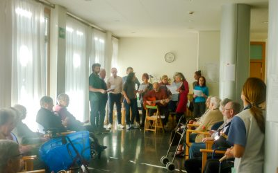 Holosophic Society Spain – Christmas Event with Elderly