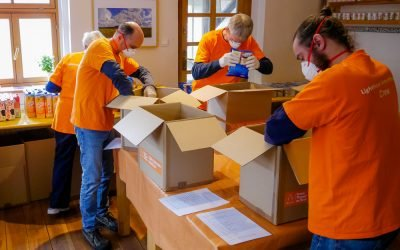 Lighthouse Center Polska – Przekazanie żywności Projekt charytatywny podczas COVID-19