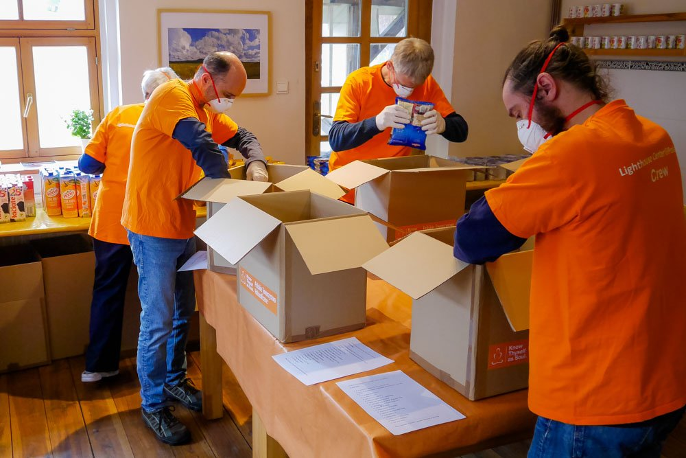 Lighthouse Center Poland – Food Distribution for COVID-19 Charity Project