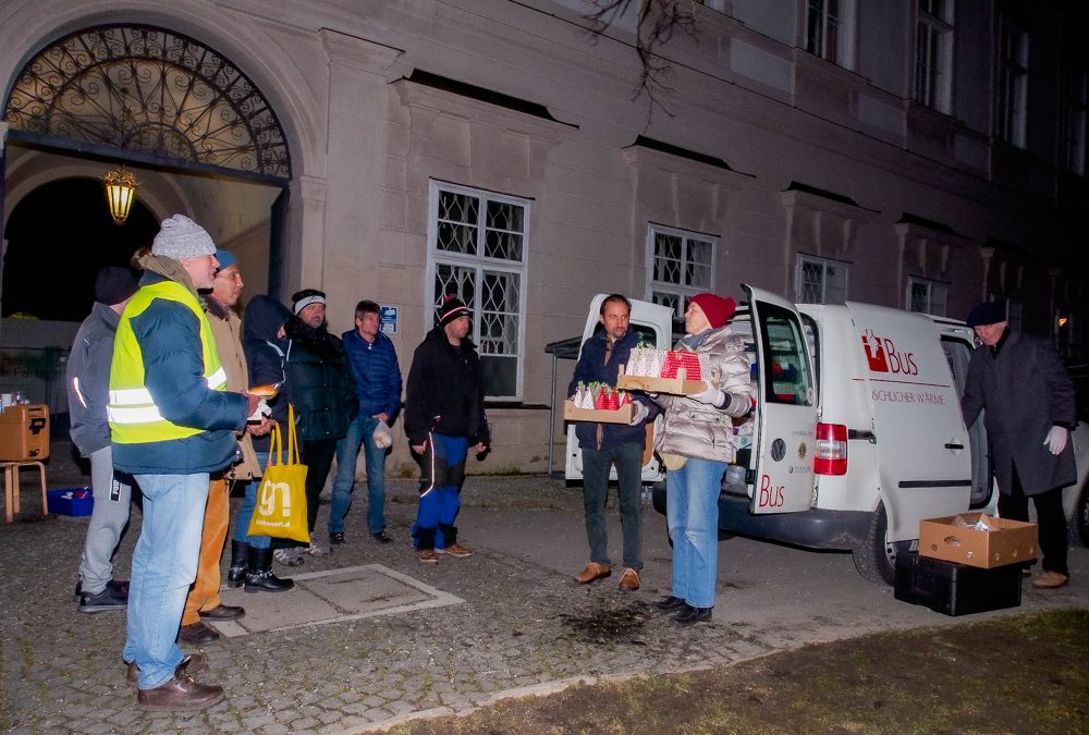 Holosophic Society Austria – New Year's Eve for the Homeless