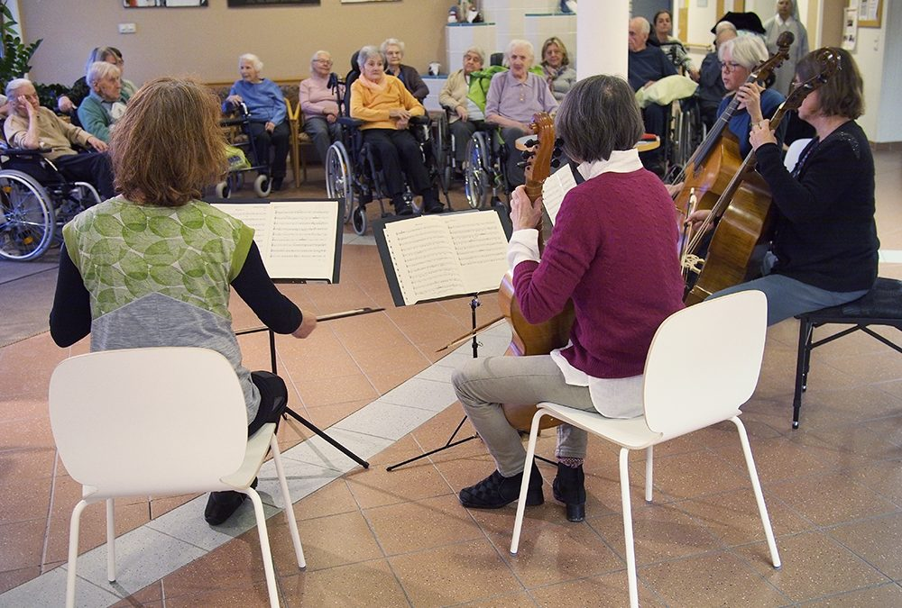 Music in a Retirement Home
