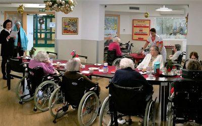 Adventsfeier für ältere Menschen