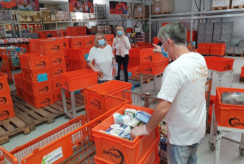 Helping Hand for the Food Bank