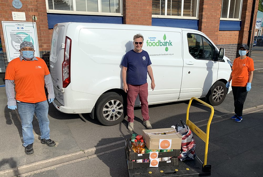 Supporting Food Banks