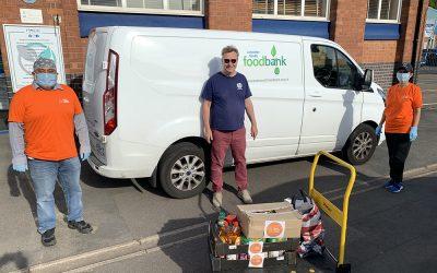 Podpiranje bank hrane