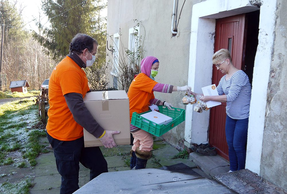 Food Distribution to Families in Need